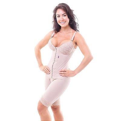 Cinta Modeladora Feminina Macaquinho Com Bojo
