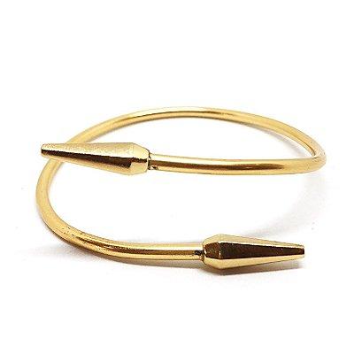 Bracelete Minimal Spike Dourado