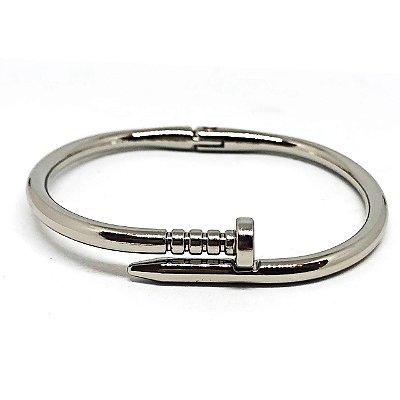 Bracelete Minimal Prateado