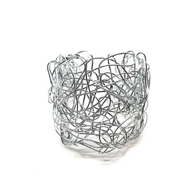 Bracelete Ninho Prata