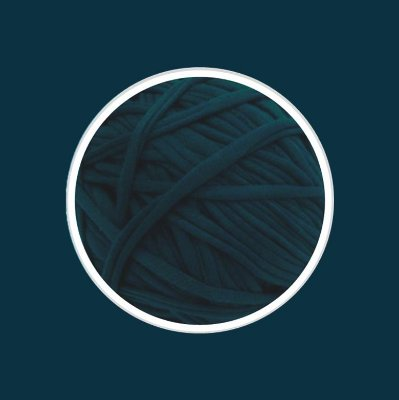 Fio de Malha Premium 33 mm - Azul Oceano - 110metros - aprox. 500gr