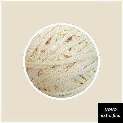 Fio de malha Premium Extrafino - Off White (nova tonalidade Cru)130m - aprox. 350gr