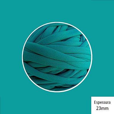 Outlet - Fio de Malha Premium 23mm - Turquesa Escuro - 308gr