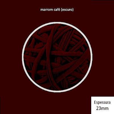 Outlet - Fio de Malha Premium 23mm - Marrom Café Expresso - 208gr