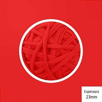 OUTLET - Fio de Malha Premium 23 mm - Vermelho Branca de Neve - 446gr