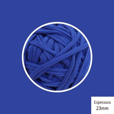 OUTLET - Fio de Malha Premium 23 mm - Azul Royal - 492gr