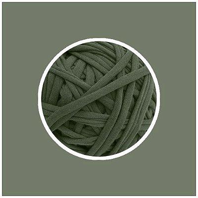 OUTLET  Fio de Malha Premium Fio 23mm - Verde Cana - aprox. 388gr
