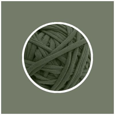 OUTLET  Fio de Malha Premium Fio 23mm - Verde Cana - aprox. 330gr