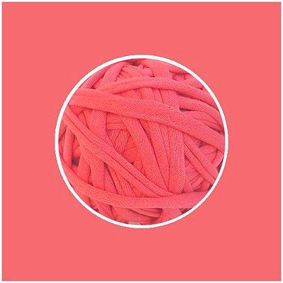 OUTLET  Fio de Malha Premium Fio 23mm - Living Coral - aprox. 326gr