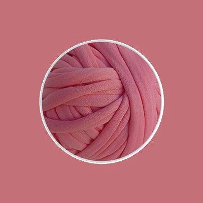 OUTLET  Fio de Malha Premium Fio 23mm - Rosa Antigo - aprox. 346gr