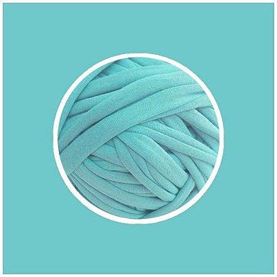 OUTLET  Fio de Malha Premium Fio 23mm - Azul Tiffany - aprox. 324gr