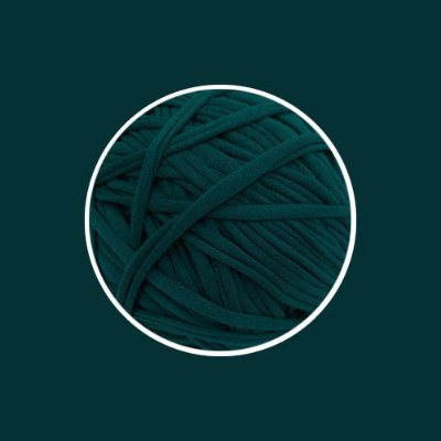 OUTLET  Fio de Malha Premium Fio 23mm - Verde Exercito - aprox. 254gr