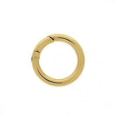 Fios Kiki - Argola Mosquetão Articulada - Dourada - 4,2cm