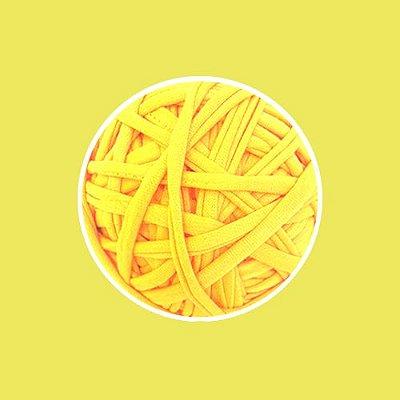 Fio de malha Premium Extrafino - Amarelo Canário - 130m - aprox. 350gr