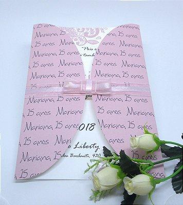 Convite 15 anos Envelope personalizado