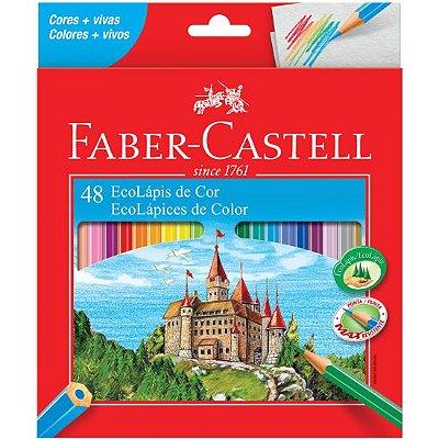 Lápis Cor Sextavado Faber Castell 48 Cores