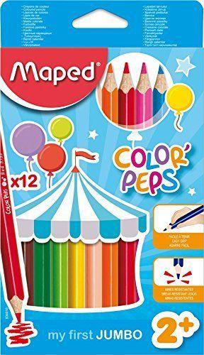 Lápis de Cor Maped Color Peps Jumbo