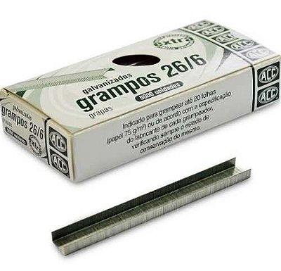 Grampo 26/6 Galvanizado Extra 5000 Unid