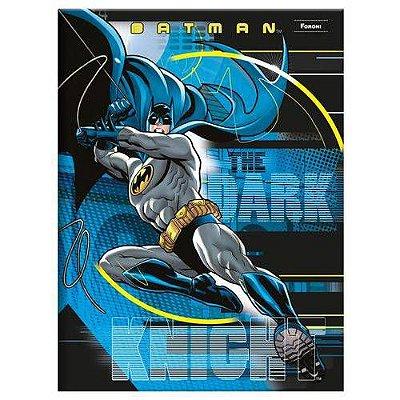 Caderno Brochura 1/4 Capa Dura 96 Folhas Batman