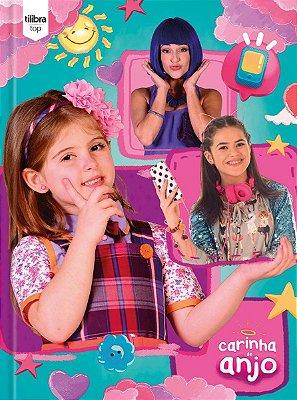 Caderno Brochurao Capa Dura Carinha De Anjo Top 96 Folhas