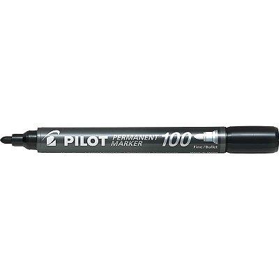 Pincel Permanente marker - SCA-100 - Preto - ponta redonda - Pilot