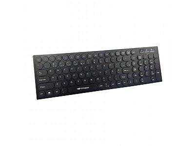 TECLADO USB KB-55BK PRETO C3 TECH