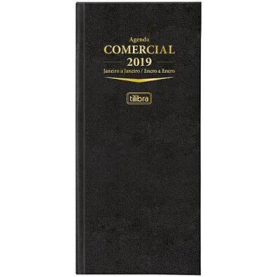 AGENDA EXECUTIVA COSTURADA DIÁRIA DE MESA COMERCIAL 2019