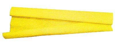 Papel Crepon Amarelo
