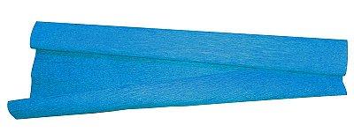 Papel Crepon Azul