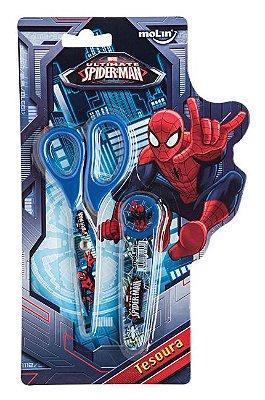 Tesoura Spiderman Com 1 Unidade