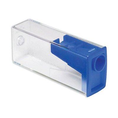 Apontador Com Depósito Faber Castell - Azul