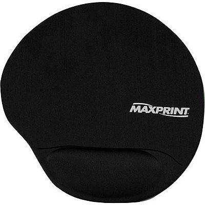 Base p/ Mouse c/ Apoio em Gel - Preto - Maxprint