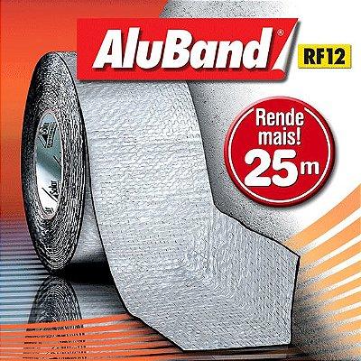 Manta Multiuso de Alumínio com Ráfia - AluBand RF12 Alumínio Maxi - Rolos 25m