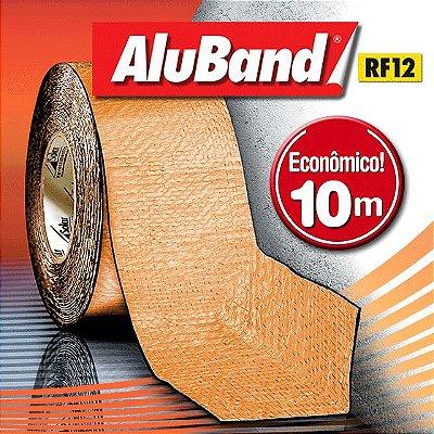 Manta Multiuso de Alumínio com Ráfia na cor Terracota - AluBand RF12 Terracota - Rolos 10m