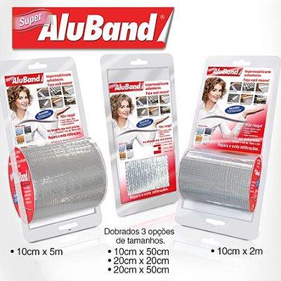 Manta Multiuso Cinza - AluBand Super