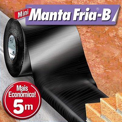 Manta Fria-B Mini - Rolos 5m - Fundações, Alicerces e Baldrame