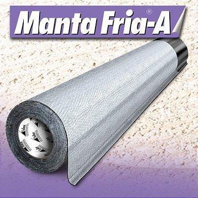 Manta adesiva para telhado - Manta Fria-A - Impermeabilizante Alumínio para Lajes e Telhados
