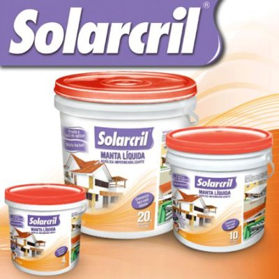 Manta Líquida Acrílica Impermeabilizante - Solarcril Terracota