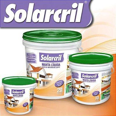 Manta Líquida Acrílica Impermeabilizante - Solarcril Verde