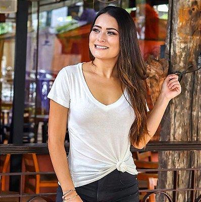 Camiseta Malha Podrinha