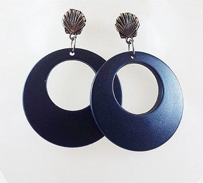 Brinco Azul Argola