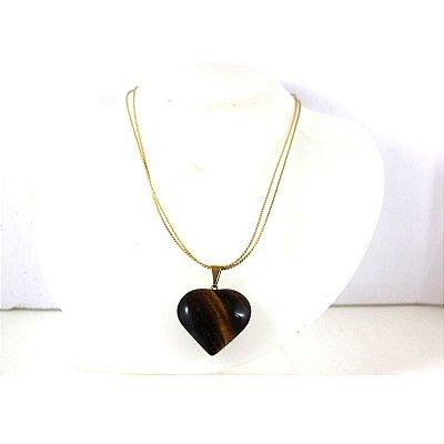 Colarzinho Coração de Pedra