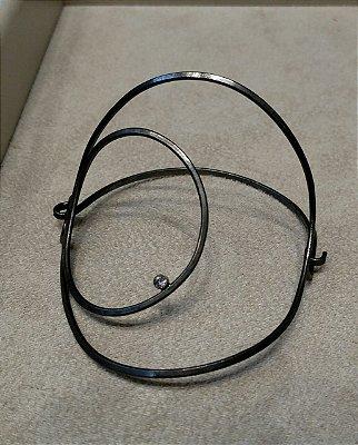 Bracelete 2 Círculos Articulados