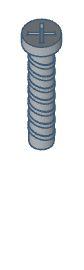 Modelix 334 - Parafusos com Rosca padrão Modelix 20 mm