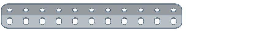 Modelix 299 - Cantoneira com 11 furos