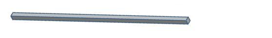 Modelix 327 - Eixo Quadrado 150mm