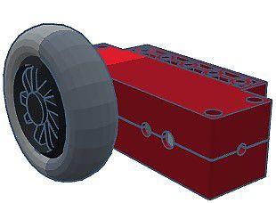 278 - Motor Strong com base e cabo e roda