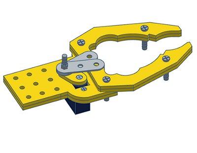 285 - Garra Mecânica GRIP (não inclui motor servo)