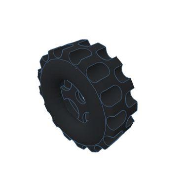 Modelix 395 - Roda Grande (diâmetro interno = 4,2mm diâmetro externo = 30mm)