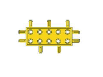Modelix 453 -  Kids Plataforma 2x5 - amarelo
